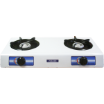 White Coated Double Burner
