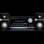 DVD Player 2.1 Channel 225mm Plastic / MIDI Karaoke / Mpeg4 USB Function / FM Radio / Component