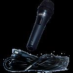 Professional Dynamic Microphone FMP 72k black