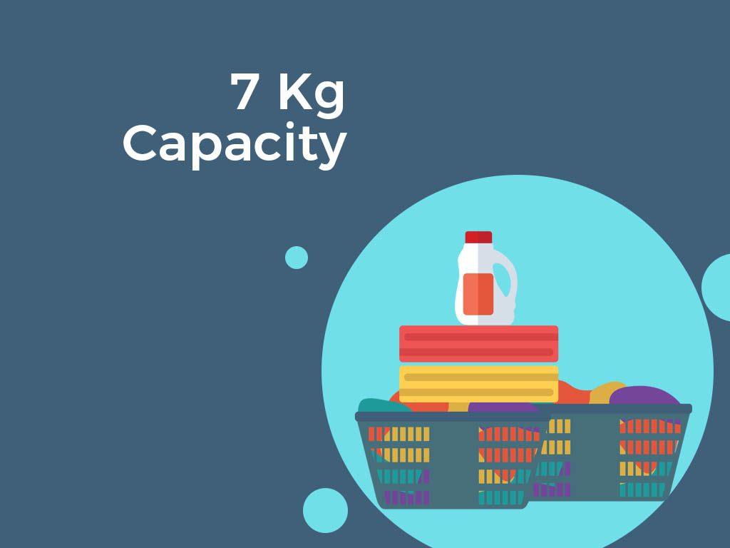 7 kg Capacity