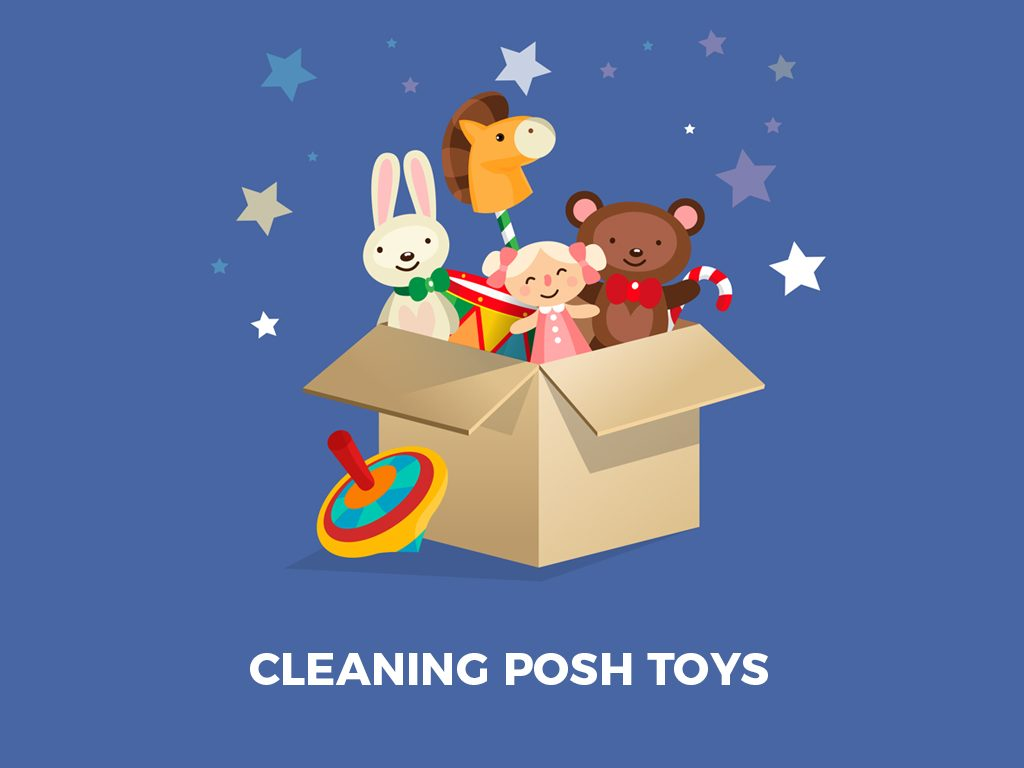 Cleaning posh toys