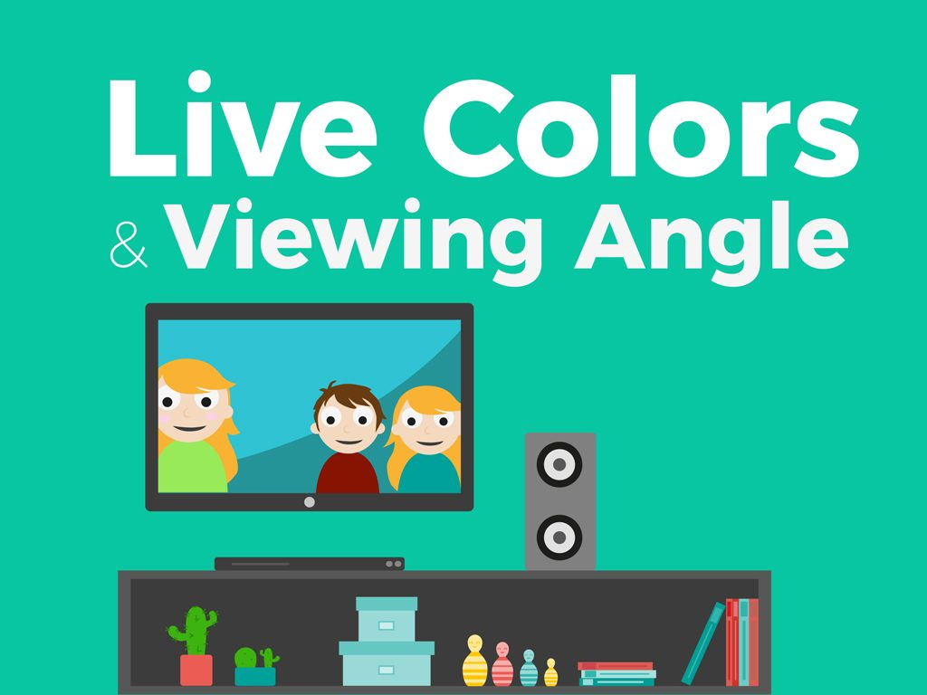 Live Colors & Viewing Angle