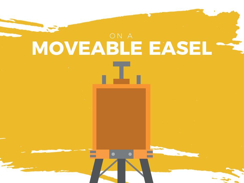 Moveable Easel
