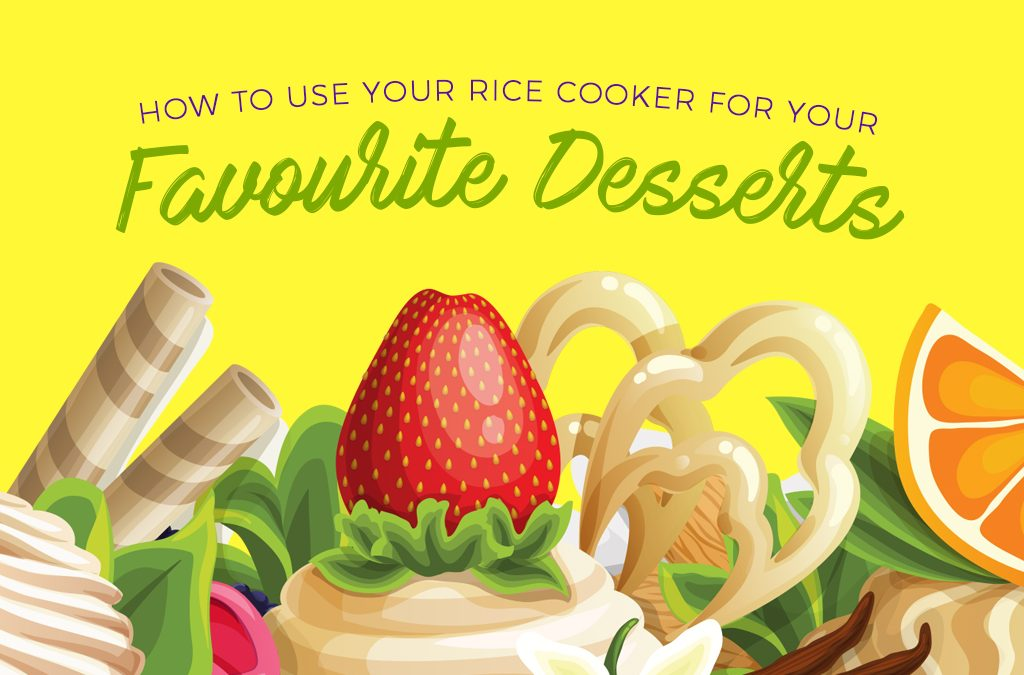 How to Use Your Rice Cooker for Your Favorite Desserts