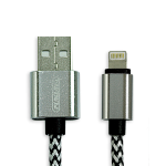 Fukuda FCS-121L 1.2m Sync and Charge Lightning Cable for Apple (White)