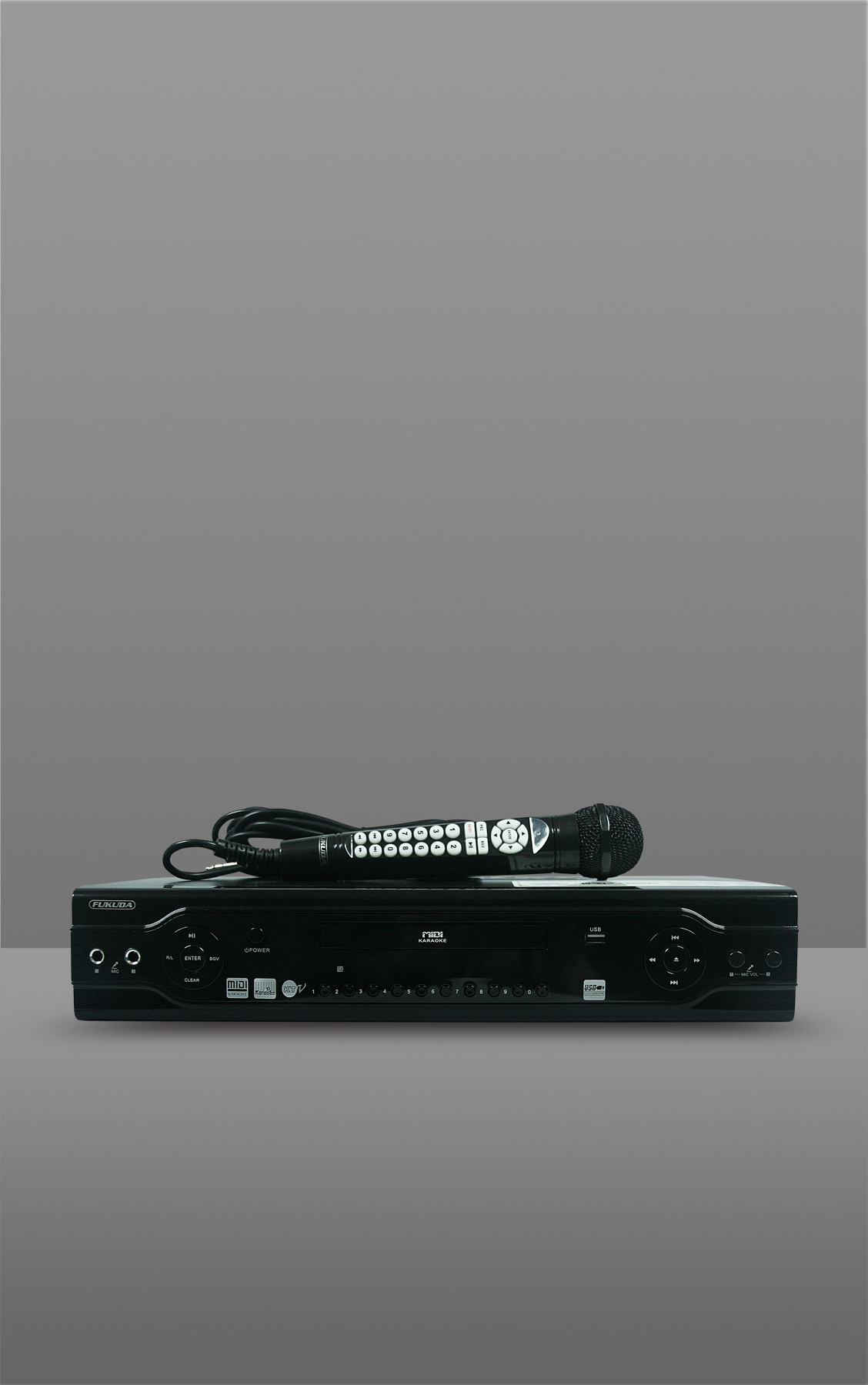 2.1 CH MIDI/DVD PLAYER WITH MICROPHONE