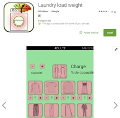 Laundry Load Weight