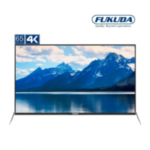 Fukuda FLED65SMRT4K 65″ 4K Ultra HD Smart LED TV (Black)