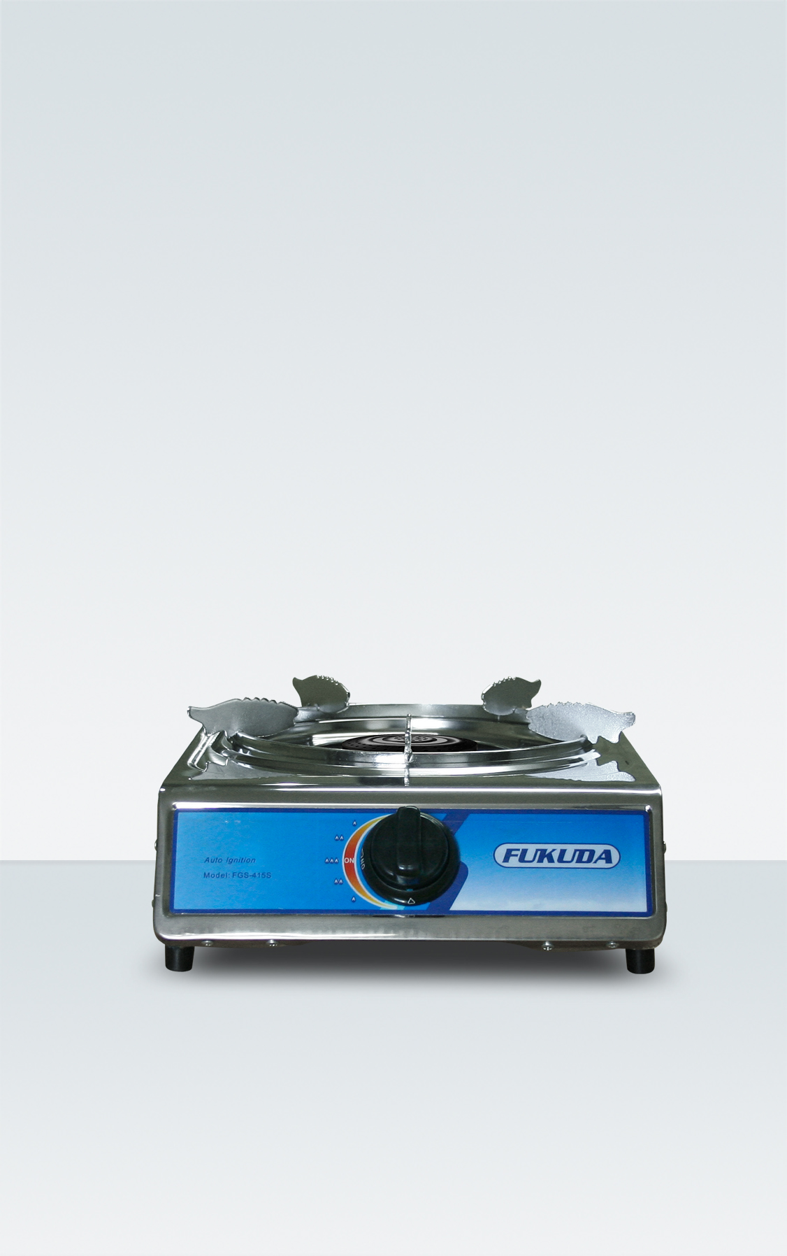 STAINLESS SINGLE BURNER GAS STOVE