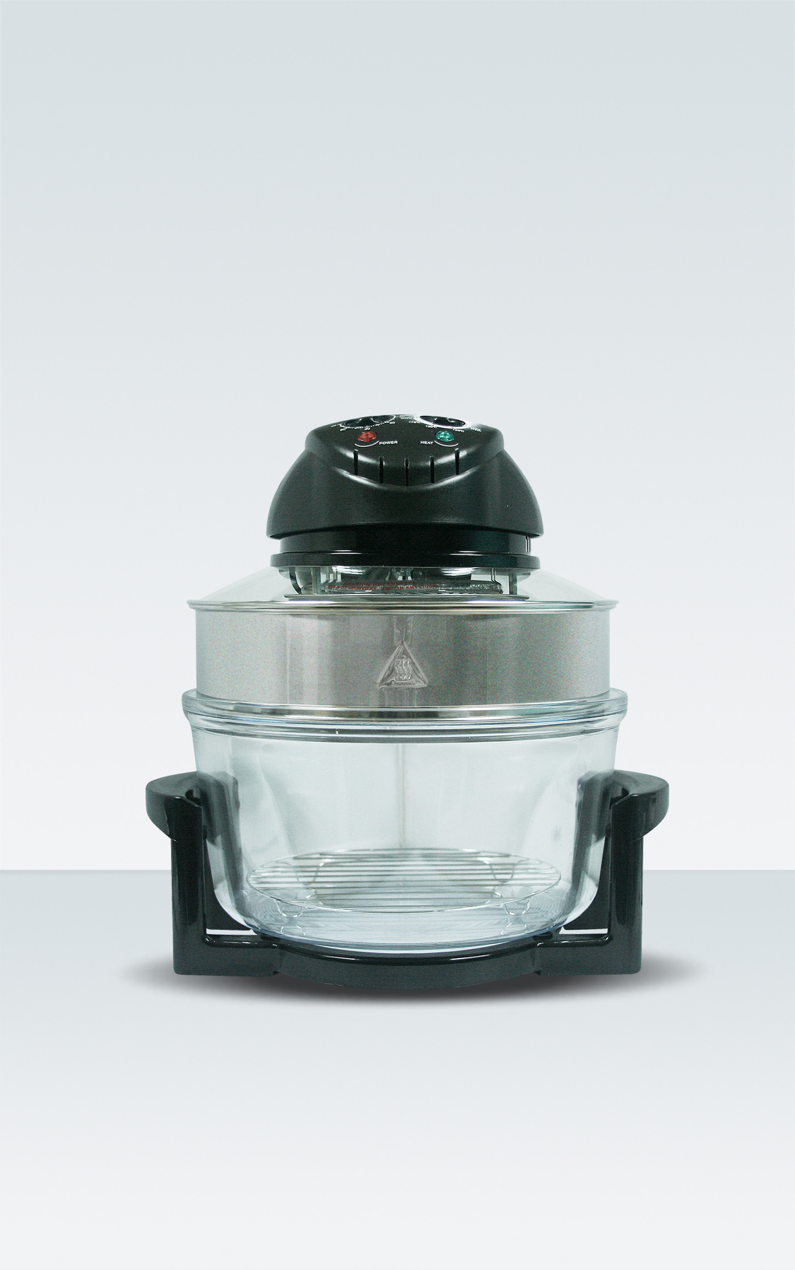 TURBO BROILER HALOGEN OVEN WITH EXTENDER