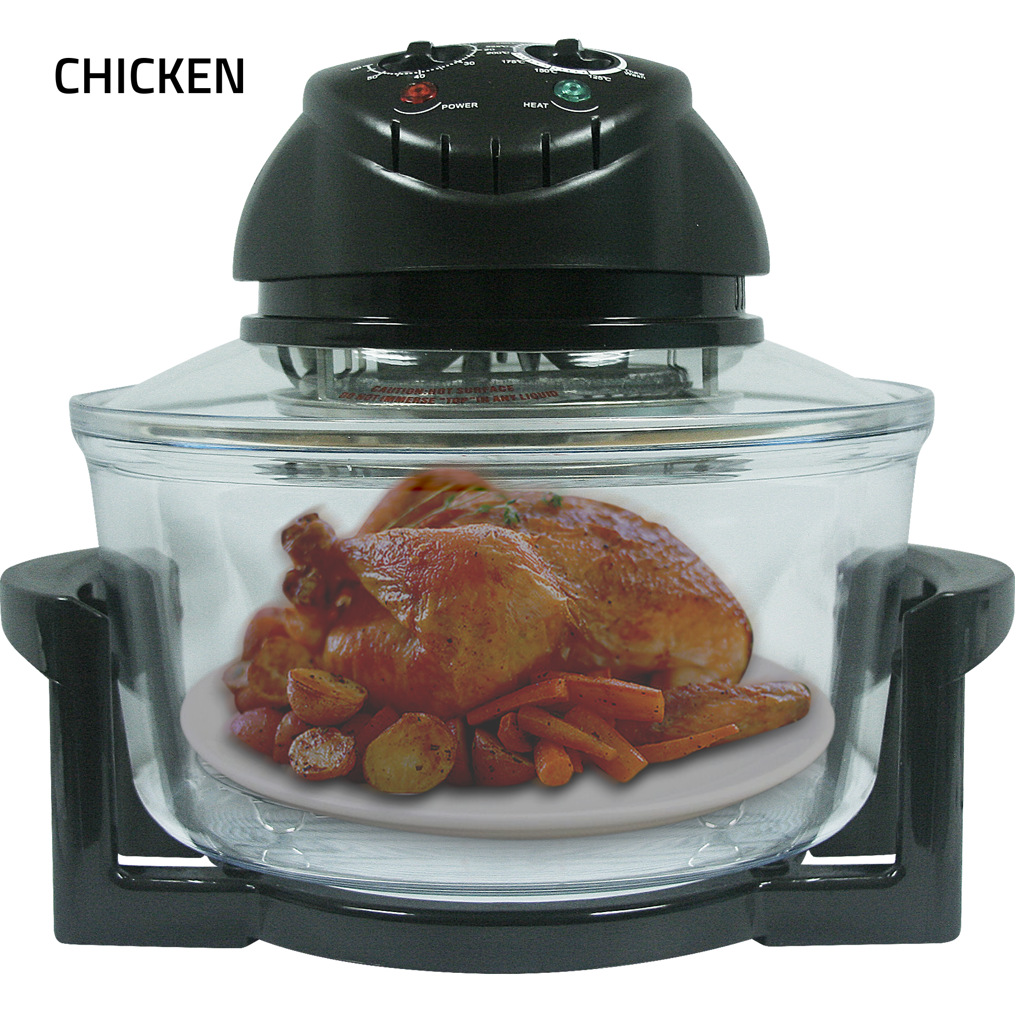 Fukuda FTB101 Turbo Broiler Halogen Oven With Extended