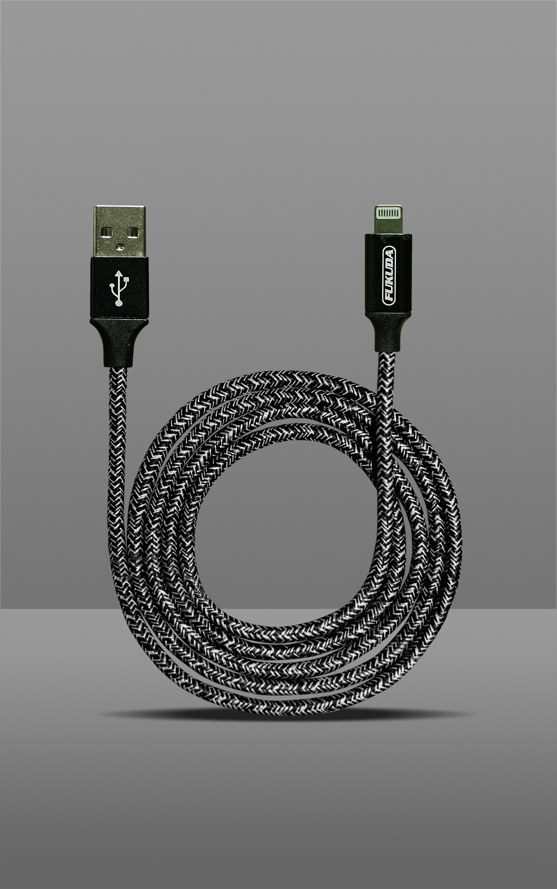 1M FAST CHARGING & DATA SYNC CABLE (MICRO USB - BLACK)
