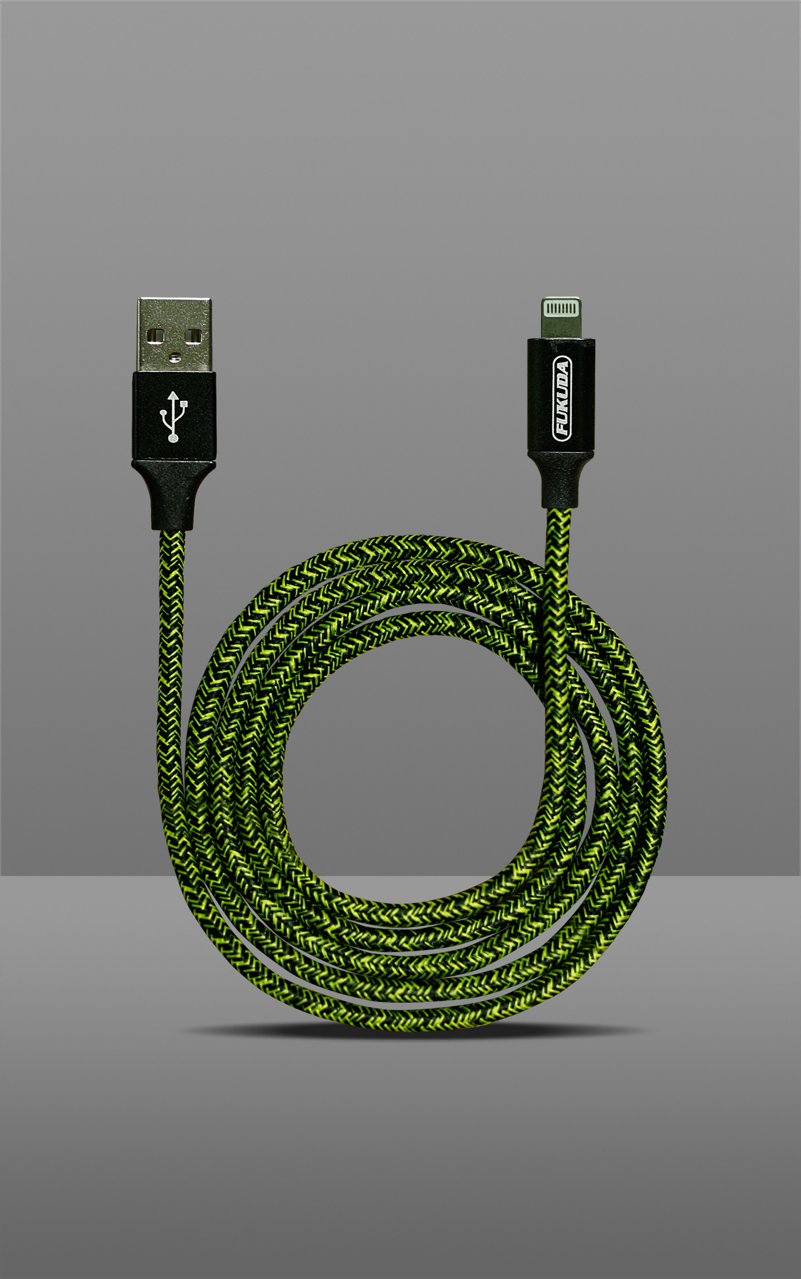 1M FAST CHARGING & DATA SYNC CABLE (MICRO USB - YELLOW)