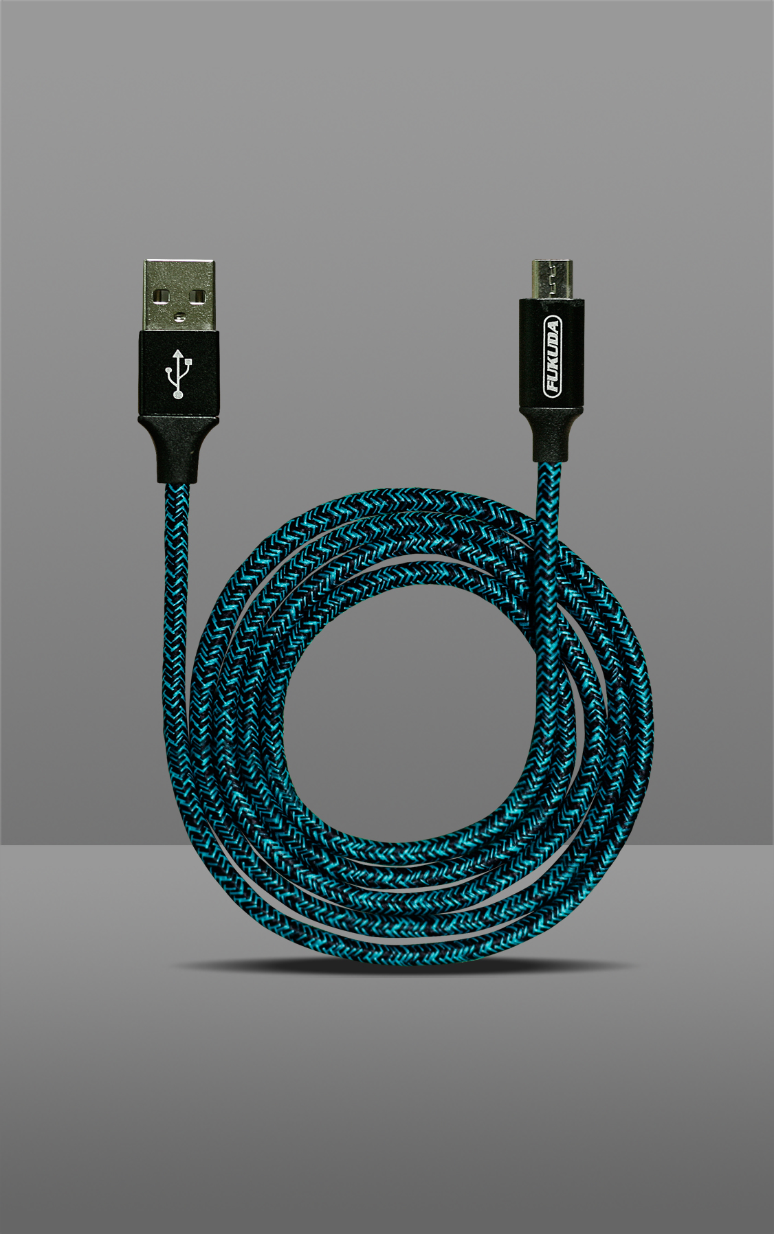 1M FAST CHARGING & DATA SYNC CABLE (MICRO USB - BLUE)