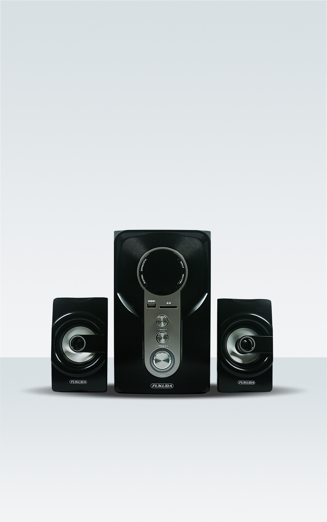 2.1 CH HOME THEATER SPEAKER 30W RMS