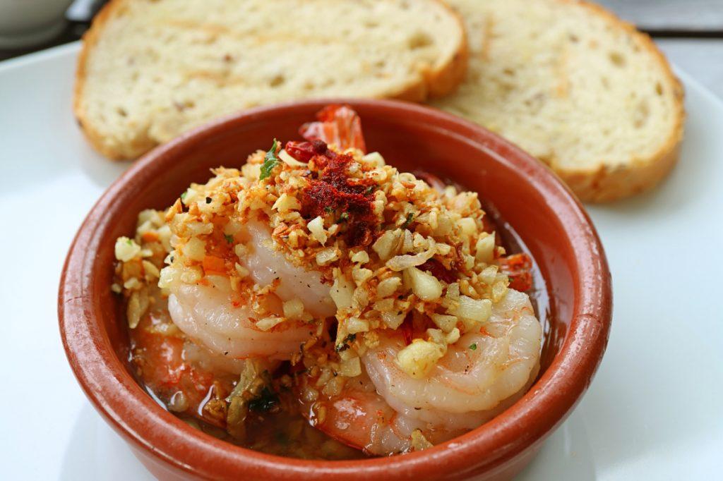 arlic and Parmesan Fried Shrimp